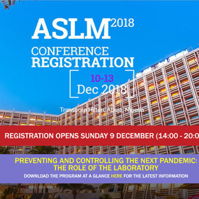 Poster Presentation at ASLM 2018 Conference, Nigeria