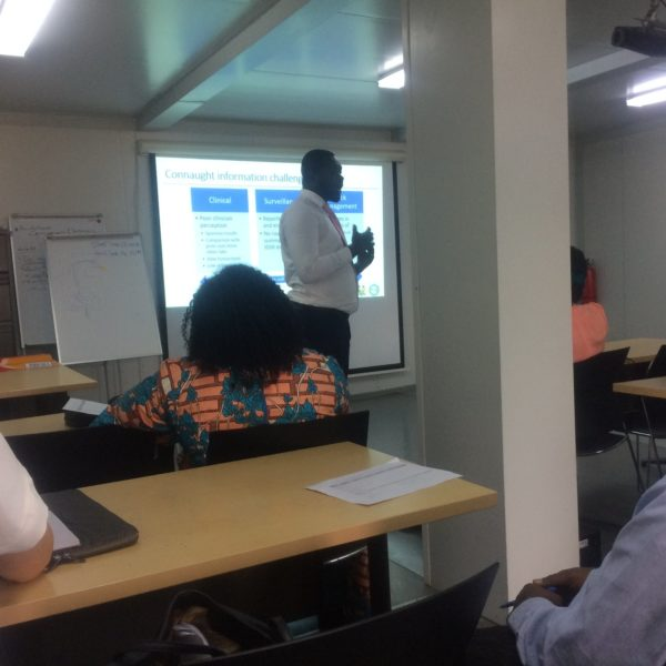 LIMS planning and validation workshop in Sierra Leone, Freetown
